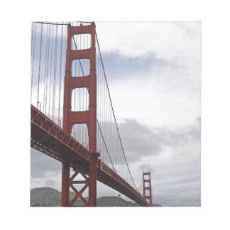 Puente Golden Gate San Francisco Blocs De Notas
