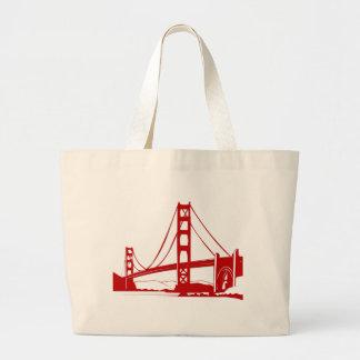 Puente Golden Gate - San Francisco, CA Bolsa Tela Grande