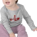 Puente Golden Gate - San Francisco, CA Camisetas