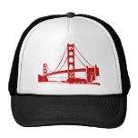 Puente Golden Gate - San Francisco, CA Gorras De Camionero
