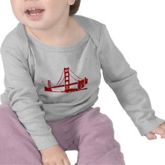 Puente Golden Gate - San Francisco CA Camisetas