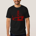 Puente Golden Gate - San Francisco, CA Playera