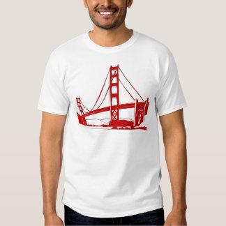 Puente Golden Gate - San Francisco, CA Remeras