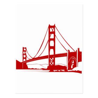Puente Golden Gate - San Francisco, CA Postales