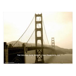 Puente Golden Gate - San Francisco CA Postal