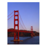 Puente Golden Gate, San Francisco, California, 2 Tarjeta Postal