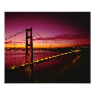 Puente Golden Gate, San Francisco, California, 3 Fotografías