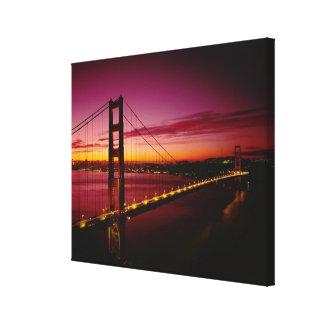 Puente Golden Gate, San Francisco, California, 4 Lona Estirada Galerías