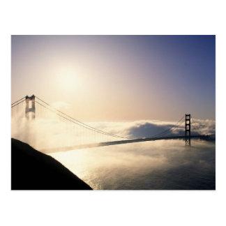 Puente Golden Gate, San Francisco, California, 4 Postal