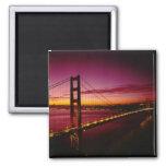 Puente Golden Gate, San Francisco, California, 5 Imán Cuadrado