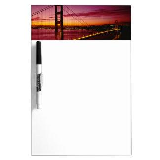 Puente Golden Gate, San Francisco, California, 5 Tablero Blanco