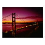 Puente Golden Gate, San Francisco, California, 5 Tarjetas Postales