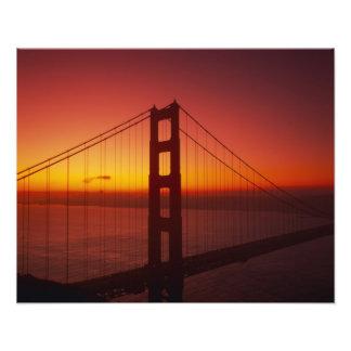 Puente Golden Gate, San Francisco, California, 7 Impresiones Fotográficas