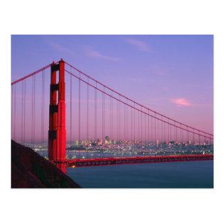 Puente Golden Gate, San Francisco, California, 7 Postal