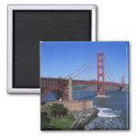 Puente Golden Gate, San Francisco, California, 8 Imán Cuadrado