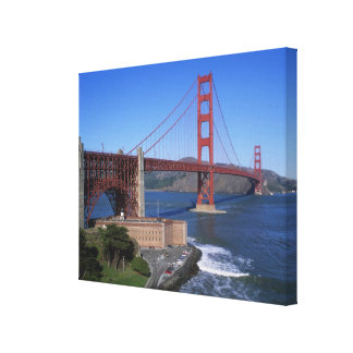 Puente Golden Gate, San Francisco, California, 8 Impresión En Lona