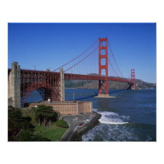 Puente Golden Gate, San Francisco, California, 8 Posters