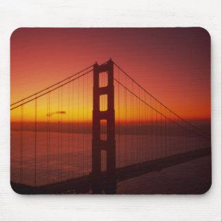 Puente Golden Gate, San Francisco, California, 9 Tapetes De Ratones