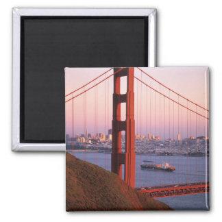 Puente Golden Gate; San Francisco; California; Imán Cuadrado