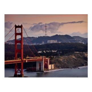 Puente Golden Gate San Francisco California Postales