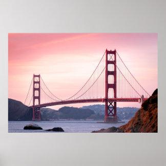 Puente Golden Gate, San Francisco, California Póster
