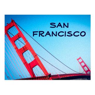 Puente Golden Gate San Francisco de la postal