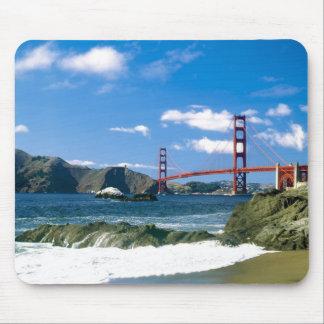 Puente Golden Gate San Francisco Mousepad Alfombrillas De Ratón