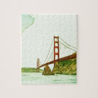 Puente Golden Gate San Francisco por el mac de Sha Rompecabezas Con Fotos