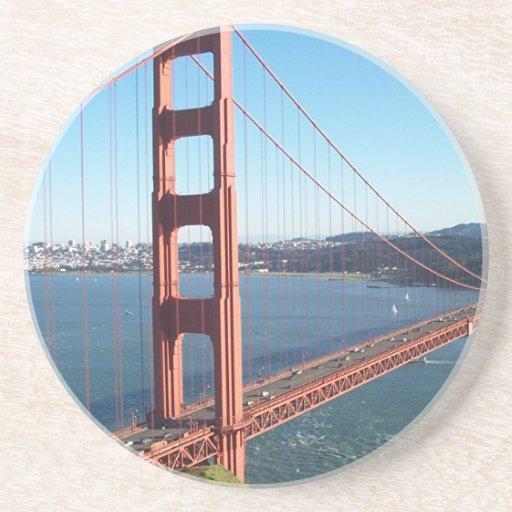 Puente Golden Gate, San Francisco Posavasos Personalizados