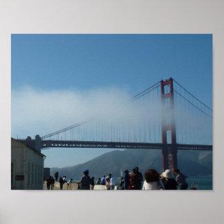 Puente Golden Gate, San Francisco Póster