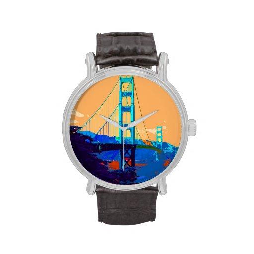 Puente Golden Gate San Francisco Relojes De Mano