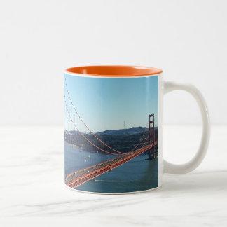 Puente Golden Gate, San Francisco Tazas
