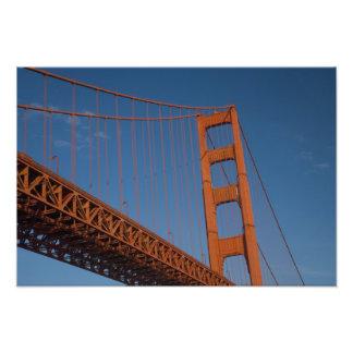 Puente Golden Gate según lo visto de punto del fue Fotografías