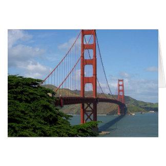 Puente Golden Gate Tarjeta De Felicitación