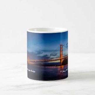 Puente Golden Gate Taza Básica Blanca