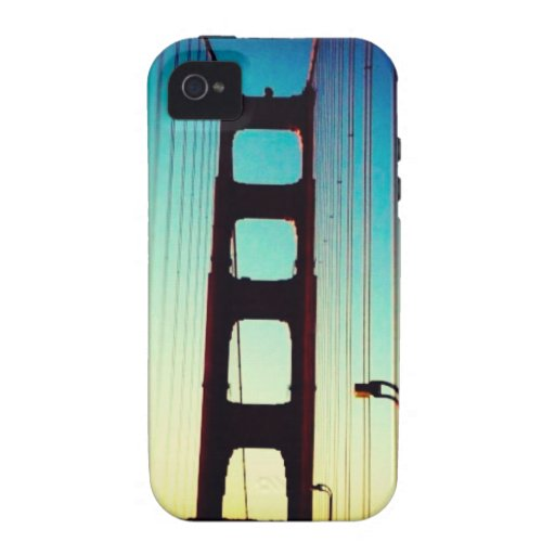 Puente Golden Gate Vibe iPhone 4 Carcasa