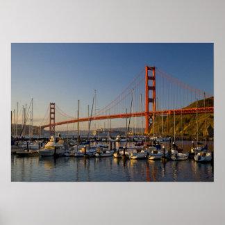 Puente Golden Gate y San Francisco 2 Posters