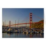 Puente Golden Gate y San Francisco 2 Tarjeta De Felicitación
