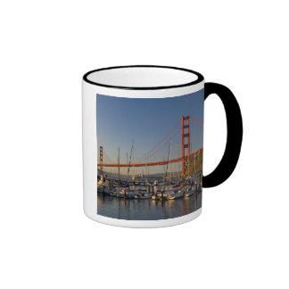 Puente Golden Gate y San Francisco 2 Tazas