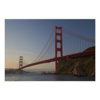 Puente Golden Gate y San Francisco 3 Fotografía