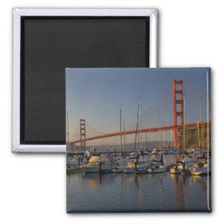 Puente Golden Gate y San Francisco 4 Imán De Nevera