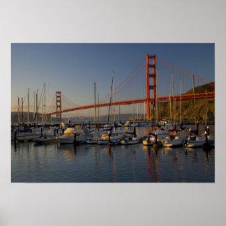Puente Golden Gate y San Francisco 4 Poster