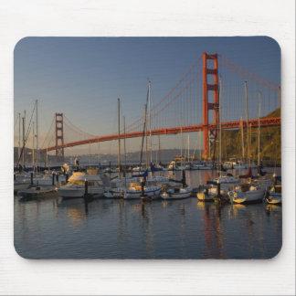 Puente Golden Gate y San Francisco 4 Tapete De Ratones