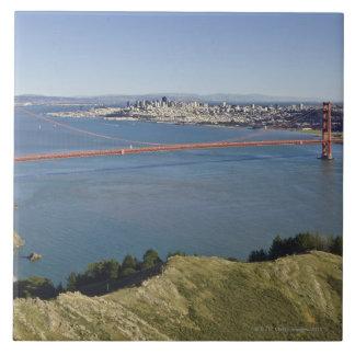 Puente Golden Gate y San Francisco 4 Teja