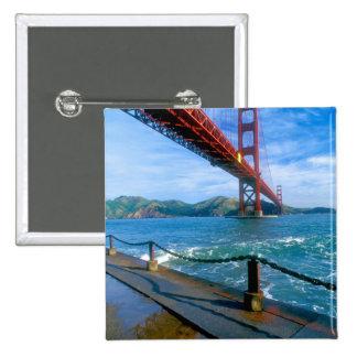 Puente Golden Gate y San Francisco Bay 2 Pins