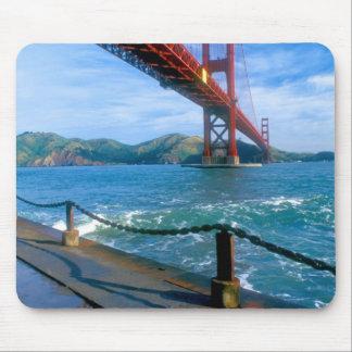 Puente Golden Gate y San Francisco Bay 2 Alfombrillas De Ratón