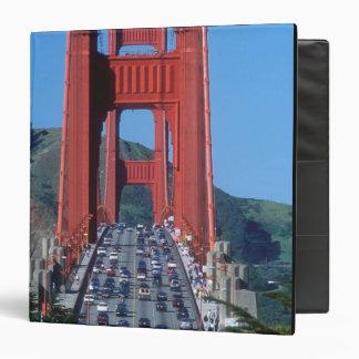 """Puente Golden Gate y San Francisco Bay Carpeta 1 1/2"""""""