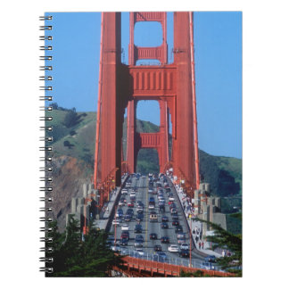 Puente Golden Gate y San Francisco Bay Spiral Notebook