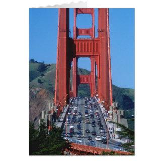 Puente Golden Gate y San Francisco Bay Tarjeta De Felicitación