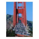 Puente Golden Gate y San Francisco Bay Tarjeta Postal
